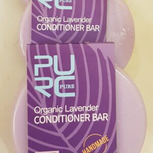 Purple lavender conditioner bar