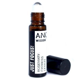 Just focus oil blend with rosemary cypress essential oils