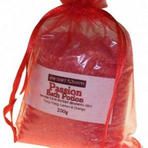 Red passion dead sea salts